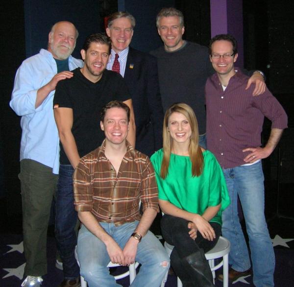 Erick Devine, Daniel C. Levine, Nick Wyman, Ed Watts,  Jamie La Verdiere, Janine DiVi Photo