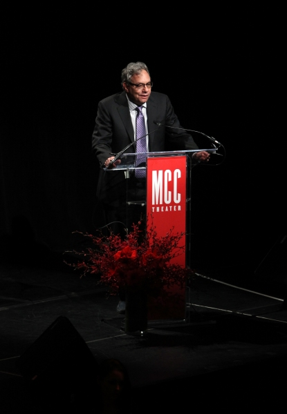 Lewis Black at Jonathan Groff, Megan Hilty & More Perform at MCC's MISCAST 2012!