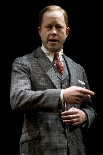 Daniel Betts at THE KING'S SPEECH Play in London