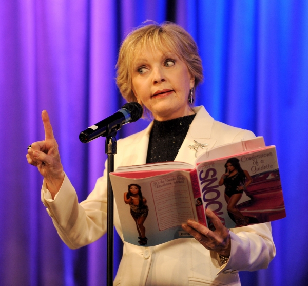 Florence Henderson at Rob Reiner, Florence Henderson and More in CELEBRITY AUTOBIOGRAPHY!