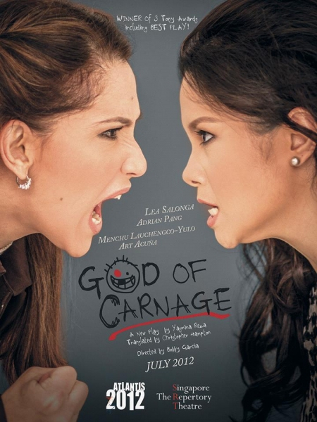 Photo Flash: GOD OF CARNAGE Poster Featuring Salonga, Yulo Released