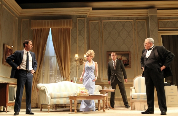 Photo Flash: Angela Lansbury, James Earl Jones, Eric McCormack, et al. in Broadway's THE BEST MAN- Production Shots!