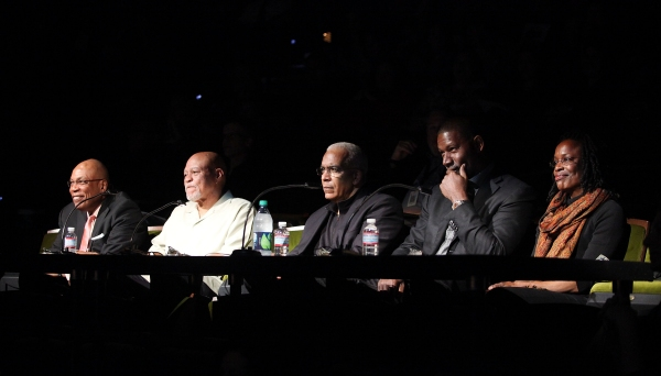 Celebrity judges Paris Barclay, John Beasley, Stan Lathan, Dennis Haysbert and Charlayne Woodard