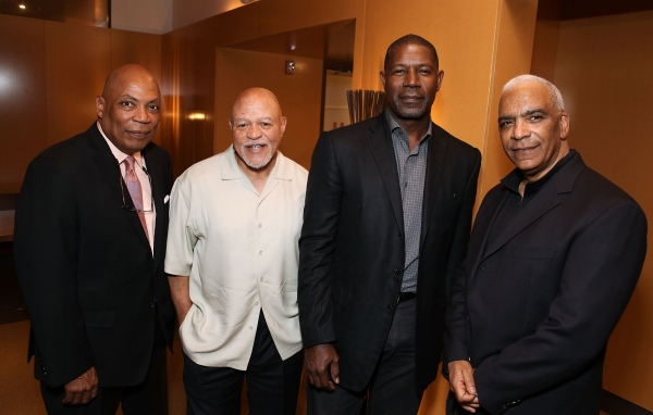 Celebrity judges Paris Barclay, John Beasley, Dennis Haysbert and Stan Lathan