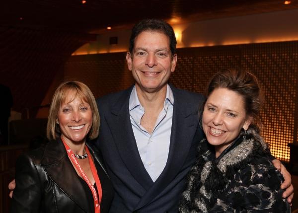 CTG Affiliate Jeri Nagelberg, CTG Board Member Dr. Steven Nagelberg and CTG Director of Development Yvonne Bell