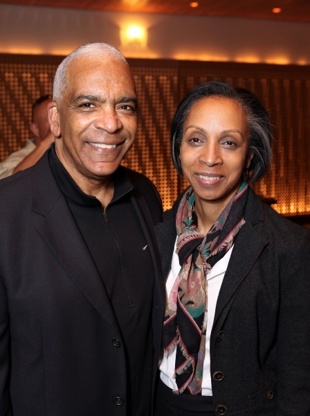 Celebrity judge Stan Lathan (L) and Attorney Nina Shaw (R)