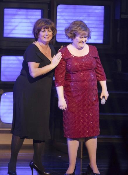Elaine C. Smith and Susan Boyle Photo