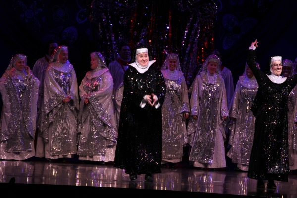 Sarah Bolt & Audrie Neenan & Company at Raven-Symone Takes Debut Bow in SISTER ACT