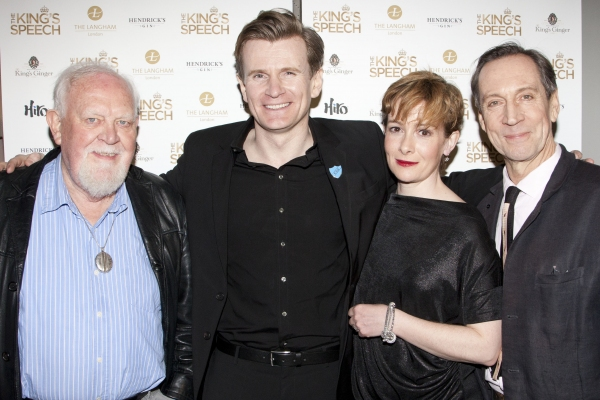 Joss Ackland, Charles Edwards, Emma Fielding and Jonathan Hyde