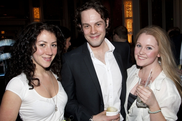 Photo Flash: THE KING'S SPEECH Press Night Curtain Call and After Party