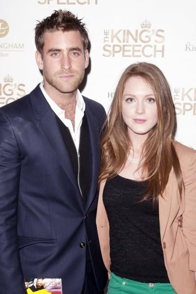 Oliver Jackson-Cohen and Olivia Hallinan