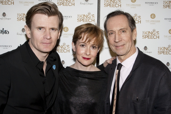 Charles Edwards, Emma Fielding and Jonathan Hyde