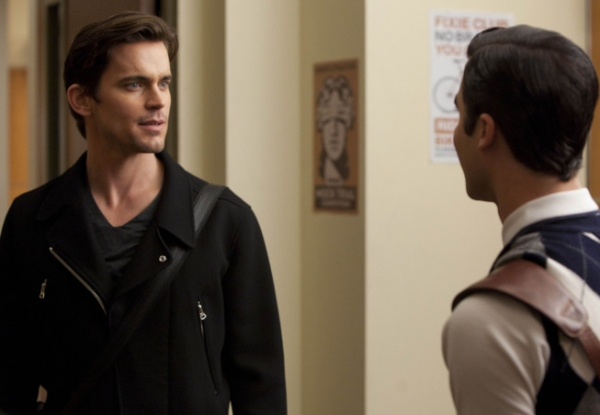 Darren Criss,  Matt Bomer at First Look at Matt Bomer on GLEE's 'Big Brother' Episode