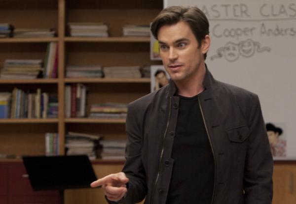 Matt Bomer at First Look at Matt Bomer on GLEE's 'Big Brother' Episode