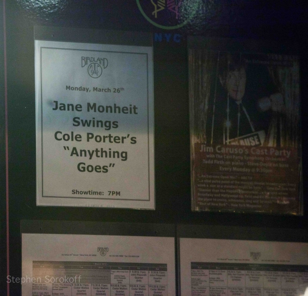 Photo Flash: Jane Monheit Brings ANYTHING GOES to Birdland!