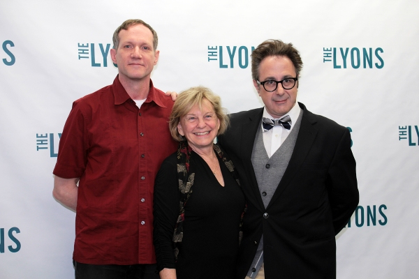 Mark Brokaw, Kathleen K. Johnson, Nicky Silver at Meet the Cast of Broadway's THE LYONS!