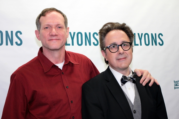 Mark Brokaw, Nicky Silver at Meet the Cast of Broadway's THE LYONS!