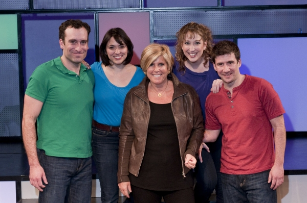 Chris Hoch, Joanna Young, Suze Orman, Courtney Balan, David Josefsberg