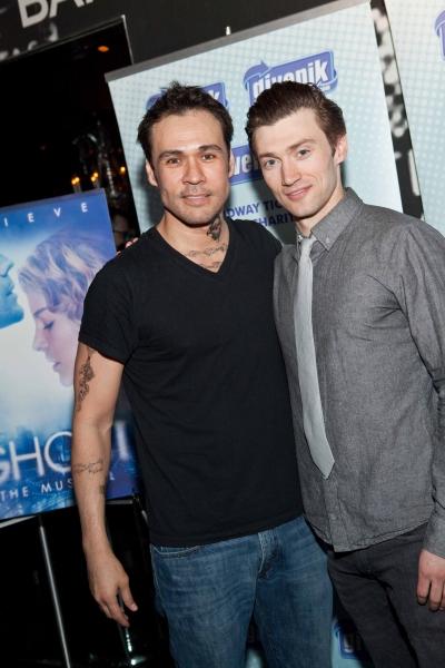 Michael Balderrama and Bryce Pinkham