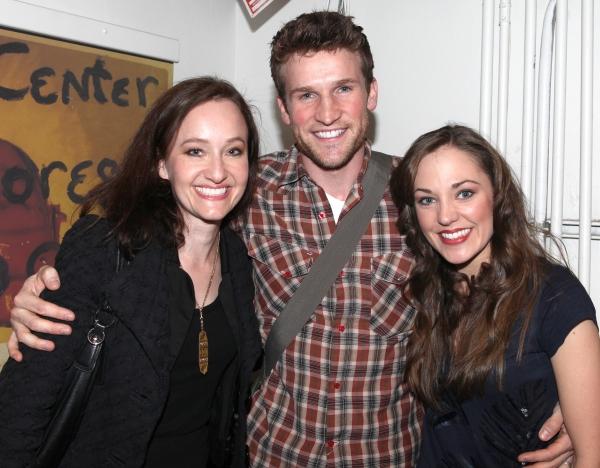 'Bonnie & Clyde' Cast Reunion: Melissa Van Der Schyff, Claybourne Elder & Laura Osnes