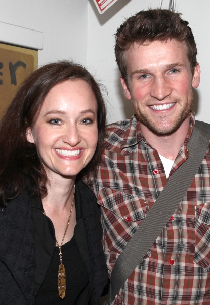 Photo Coverage: Laura Osnes, Will Chase, et al. Backstage at PIPE DREAM!