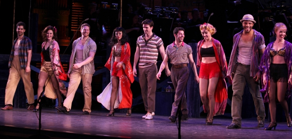 Photo Coverage: PIPE DREAM's Opening Night Curtain Call!