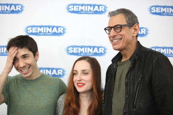 Photo Coverage: SEMINAR's Jeff Goldblum, Justin Long, Zoe Lister-Jones Meet the Press!