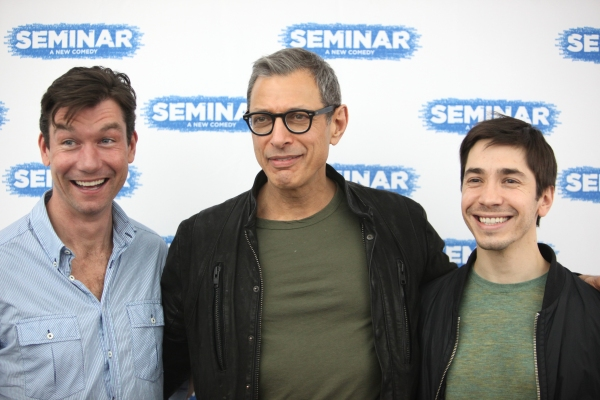 Photo Coverage: SEMINAR's Jeff Goldblum, Justin Long, Zoe Lister-Jones Meet the Press!