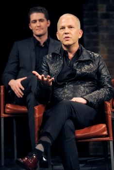 Matthew Morrison & Ryan Murphy at First Look - GLEE Cast on Bravo's INSIDE THE ACTOR'S STUDIO, 4/9