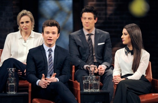 Photo Flash: First Look - GLEE Cast on Bravo's INSIDE THE ACTOR'S STUDIO, 4/9
