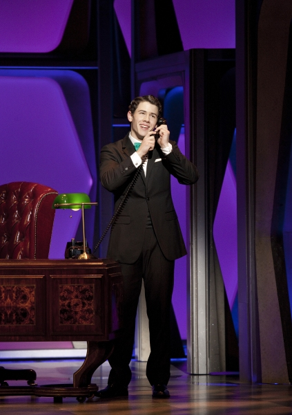 Photo Coverage: First Shots of Nick Jonas & Michael Urie in HOW TO SUCCEED IN BUSINESS WITHOUT REALLY TRYING!