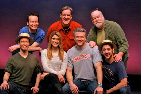 (Top Row) Jamie LaVerdiere, Nick Wyman, Erick Devine;  (Bottom Row) Ryan Alexander, Janine DiVita, Ed Watts, Daniel C. Levine.