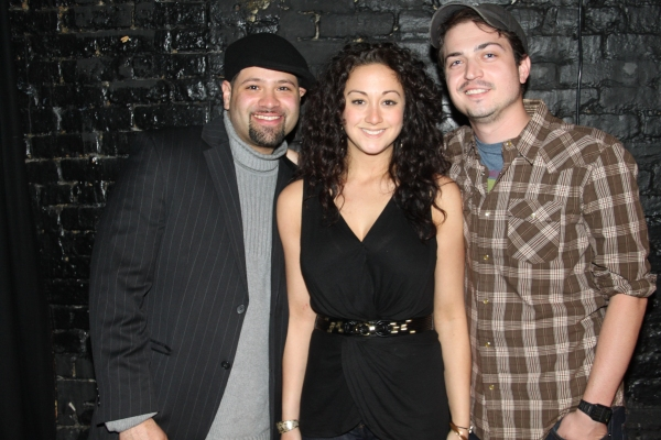 Ivan Goris, Maria DiDomenico and Nick Fondulis