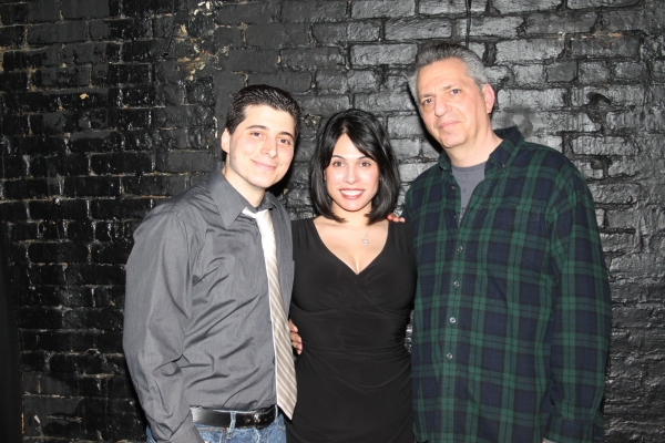 Carlo Rivieccio, Gina Ferranti and Alan Gordon Photo