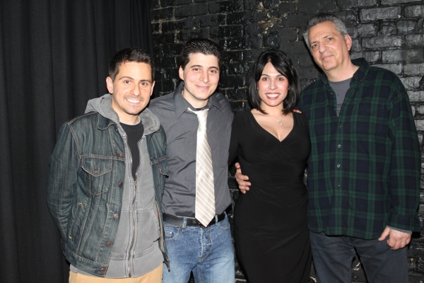 Charles Messina, Carlo Rivieccio, Gina Ferranti and Alan Gordon Photo