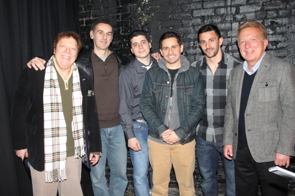 Robert R. Blume, Jim Dailakis, Carlo Rivieccio, Charles Messina, Jason Cerbone and Ted Kurdyla