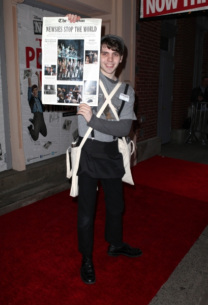 Photo Coverage: NEWSIES Opening Night Theatre Arrivals!