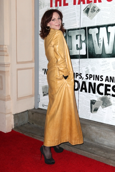 Marilu Henner  at NEWSIES Opening Night Theatre Arrivals!