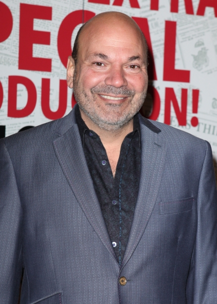 Casey Nicholaw at NEWSIES Opening Night Theatre Arrivals!