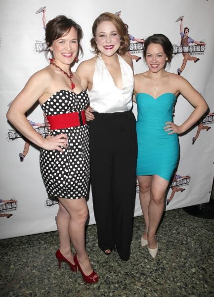 3 at NEWSIES Celebrates Opening Night - Jeremy Jordan & More!