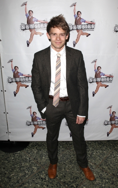 Photo Coverage: NEWSIES Celebrates Opening Night - Jeremy Jordan & More!