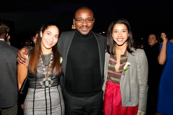 Honor McGee, Hannah Bronfman, and Robert Battle at First Look at Ailey Young Patrons Circle!