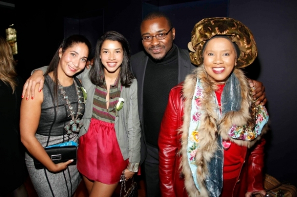 Honor McGee, Hannah Bronfman, Robert Battle, and Sherry Bronfman at First Look at Ailey Young Patrons Circle!