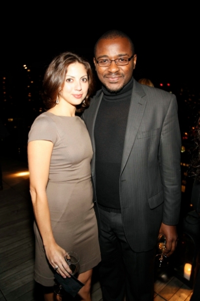 Lynda Erbs and Robert Battle at First Look at Ailey Young Patrons Circle!