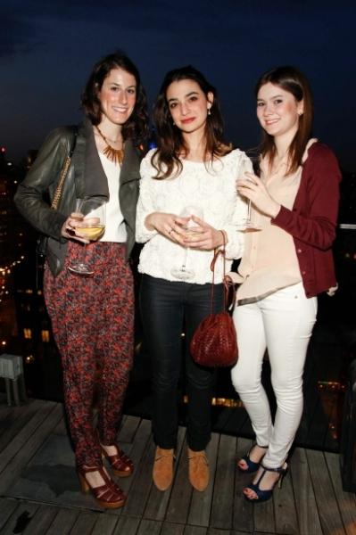 Rebecca Ney, Adriel Saporta, and Alessandra Gotbaum
