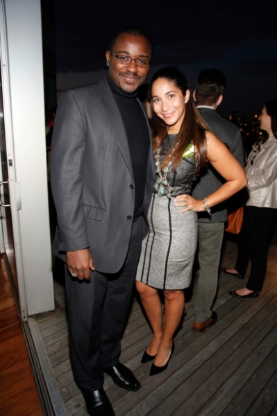 Robert Battle and Honor McGee at First Look at Ailey Young Patrons Circle!