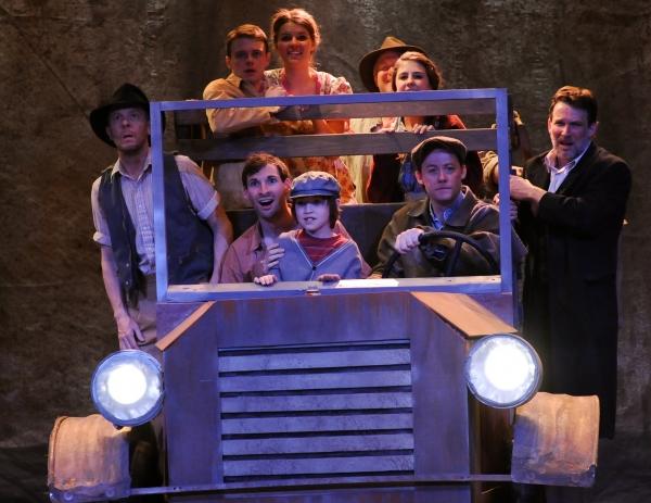 (Clockwise from top) Maggie Lous Rader, Jim Hopkins, Julianne Fox, Nick Rose, Justin McCombs, Owen Cummings, Ian Bond, Drew Fracher and Cary Davenport
