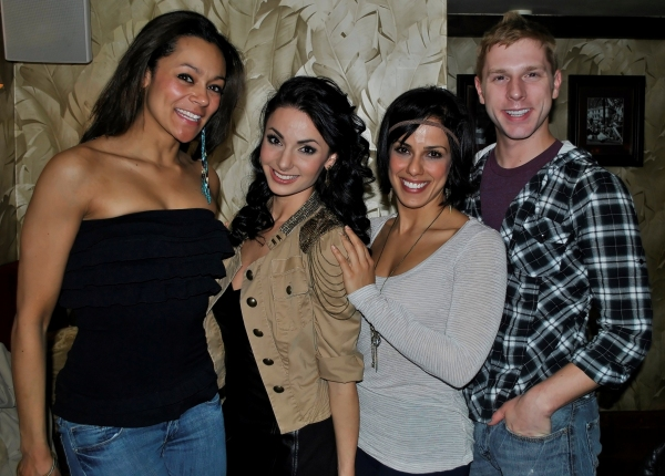 WEST SIDE STORY's Arian Keddell, Maya Flock, Desiree Davar, and Edward Lawrence