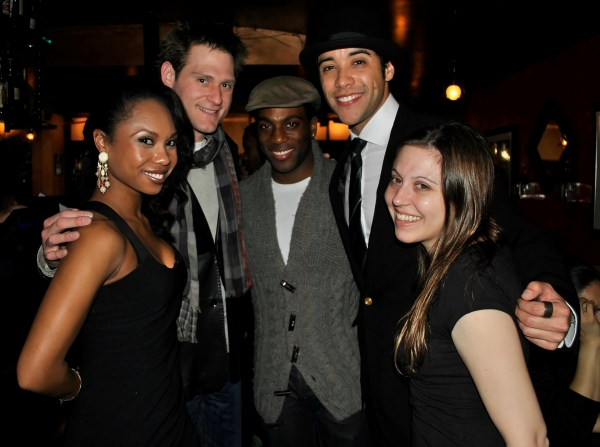Lauren Lim-Jackson (MEMPHIS), Kenneth Ferrone (SMASH), Wilkie Ferguson (PORGY AND BESS), Dan Domenech, and Jennifer Losi