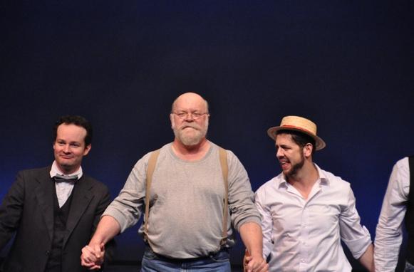 Jamie LaVerdiere, Erick Devine and Daniel C. Levine